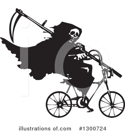 Bicycle Clipart #1300724 by xunantunich