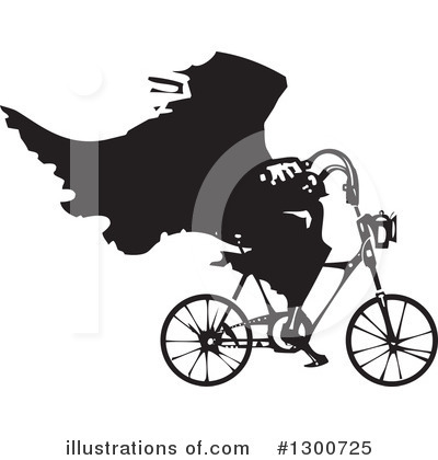 Bicycle Clipart #1300725 by xunantunich