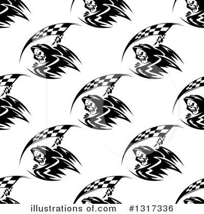 Grim Reaper Clipart #1317336 by Vector Tradition SM