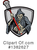 Royalty-Free (RF) Grim Reaper Clipart Illustration #1382627
