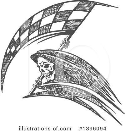 Grim Reaper Clipart #1396094 by Vector Tradition SM