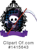Grim Reaper Clipart #1415643 by Pushkin