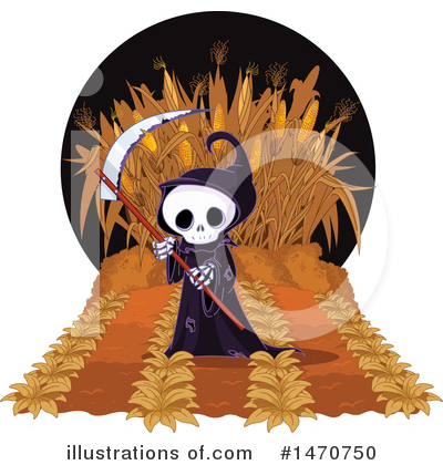 Grim Reaper Clipart #1470750 by Pushkin