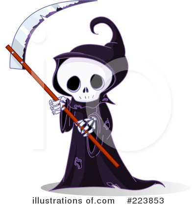 Grim Reaper Clipart #223853 by Pushkin