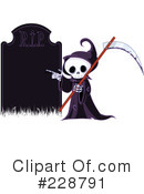 Grim Reaper Clipart #228791 by Pushkin