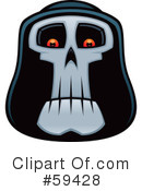 Royalty-Free (RF) Grim Reaper Clipart Illustration #59428