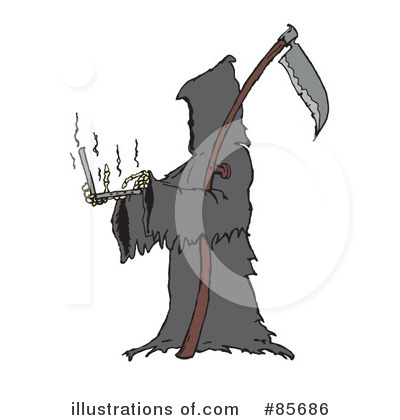 Grim Reaper Clipart #85686 by Spanky Art