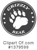 Grizzly Bear Clipart #1379599