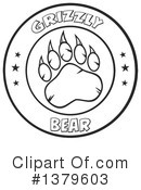 Grizzly Bear Clipart #1379603