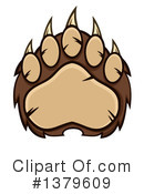 Royalty-Free (RF) Grizzly Bear Clipart Illustration #1379609