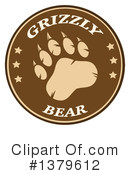 Grizzly Bear Clipart #1379612