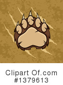 Grizzly Bear Clipart #1379613