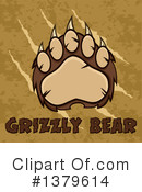 Grizzly Bear Clipart #1379614