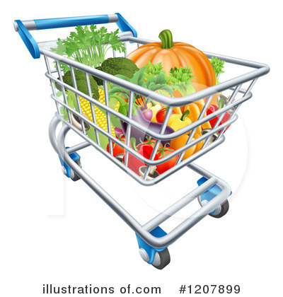 Produce Clipart #1207899 by AtStockIllustration