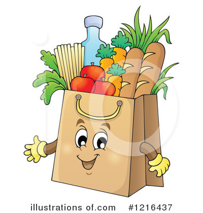 Produce Clipart #1216437 by visekart