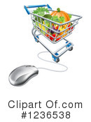 Groceries Clipart #1236538 by AtStockIllustration