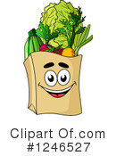 Groceries Clipart #1246527 by Vector Tradition SM