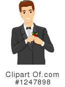 Royalty-Free (RF) Groom Clipart Illustration #1247898