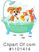 Royalty-Free (RF) grooming Clipart Illustration #1101414