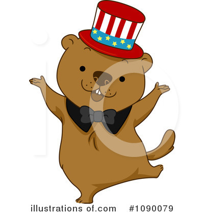 Groundhog Clipart #1090079 by BNP Design Studio
