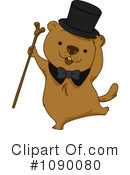 Royalty-Free (RF) Groundhog Clipart Illustration #1090080