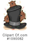 Groundhog Clipart #1090082 by BNP Design Studio