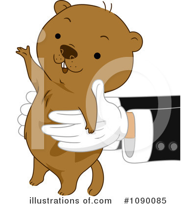 Groundhog Clipart #1090085 by BNP Design Studio