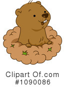 Groundhog Clipart #1090086