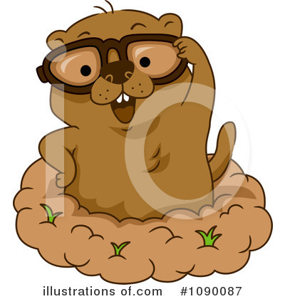 Groundhog Clipart #1090087 by BNP Design Studio