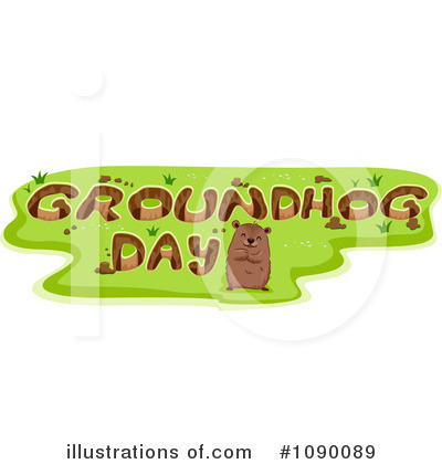 Groundhog Clipart #1090089 by BNP Design Studio