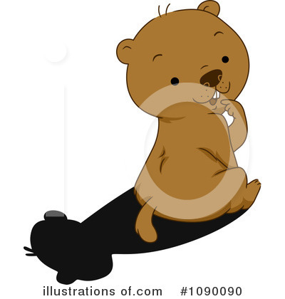 Groundhog Clipart #1090090 by BNP Design Studio