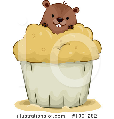 Groundhog Clipart #1091282 by BNP Design Studio