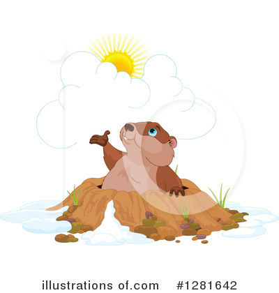 Groundhog Clipart #1281642 by Pushkin