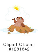 Groundhog Clipart #1281642