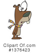 Groundhog Clipart #1376423 by toonaday