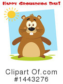 Groundhog Clipart #1443276 by Hit Toon