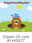 Groundhog Clipart #1443277 by Hit Toon