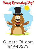 Groundhog Clipart #1443279 by Hit Toon