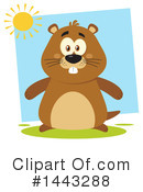 Groundhog Clipart #1443288 by Hit Toon