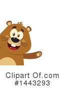Groundhog Clipart #1443293 by Hit Toon