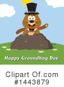 Groundhog Clipart #1443879