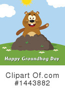 Groundhog Clipart #1443882