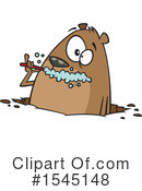 Groundhog Clipart #1545148 by toonaday