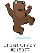 Groundhog Clipart #215077 by Cory Thoman