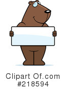 Royalty-Free (RF) groundhog Clipart Illustration #218594