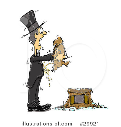 Groundhog Clipart #29921 by Spanky Art