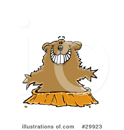 Groundhog Clipart #29923 by Spanky Art