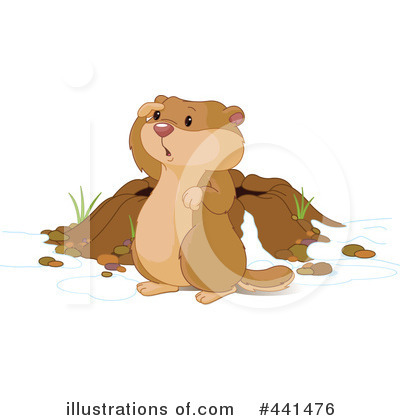 Groundhog Clipart #441476 by Pushkin
