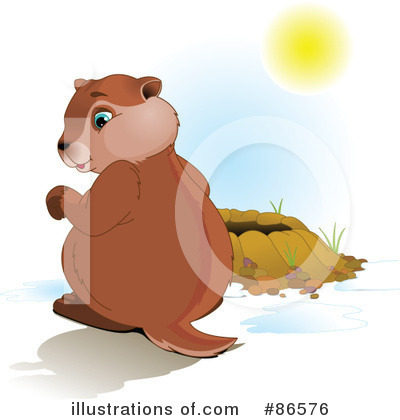Groundhog Clipart #86576 by Pushkin