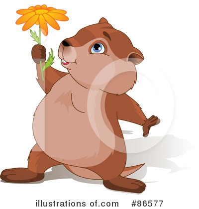 Groundhog Clipart #86577 by Pushkin